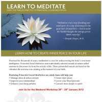 Chopra Centre: Primordial Sound Meditation Workshop