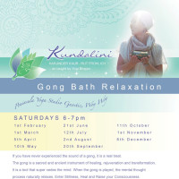 Gong Bath Relaxation Central Coast