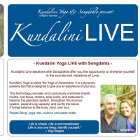 Kundalini LIVE - live music yoga class with SONGDAHLA