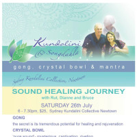 Gong, Crystal Bowl and Mantra - sound healing journey