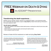 Death and Dying Online Webinar