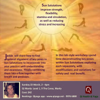Sun Salutations De-Constructed with Jackie Engelmann