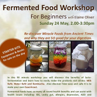 Fermented Food Workshop for Beginners with Elaine Oliver