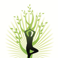 Flow Yoga with Jen Murray logo