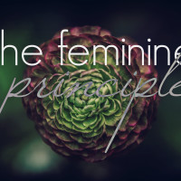 she who weaves us. The Feminine Principle