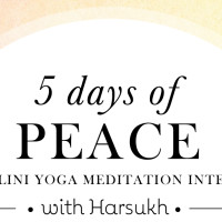 PEACE: 5 day Meditation Intensive 2017