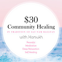 $30 Community Healings : Renew