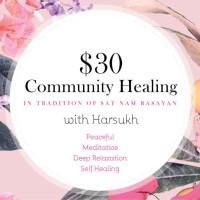 $30 Community Healings