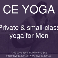 CE YOGA for Men logo