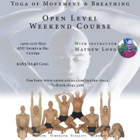 YANTRA YOGA OPEN LEVEL WEEKEND COURSE, CANBERRA, 19 - 21 MAY