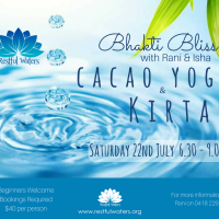 Cacao Yoga & Kirtan at Restful Waters