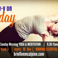 Sunday Morning Yoga - Wake up easy 3 week November series