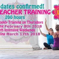 3 Months Weekend Intensive 200hrs, Level 1 Yoga Teacher Training