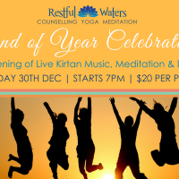 End of Year Celebration: Live Kirtan Music, Meditation & Dance