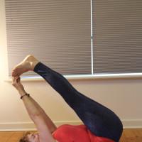 Cristine Davis - Gentle Yoga. logo