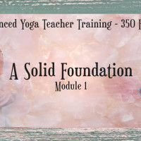 Advanced Yoga Teacher Training - A Solid Foundation