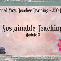 Advanced Yoga Teacher Training - Sustainable Teaching