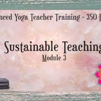 Advanced Yoga Teacher Training - Sustainable Teaching