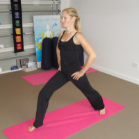 Yoga with Dana - Menai  logo