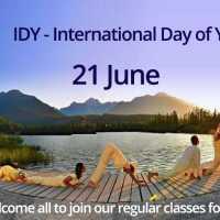 #IDY Free Yoga Classes
