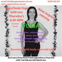 Everybody Yoga - Winter Warmer Discount- starts 19 JUL