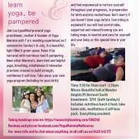 Prenatal Yoga Course - Nurture the Nurturer