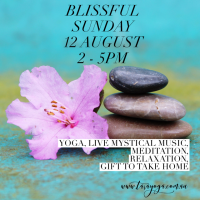 Blissful Sunday for YOU with LIVE Mystical Music