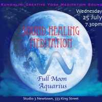 Sound Healing Meditation : Full Moon in Aquarius