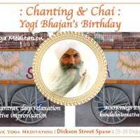 Chanting & Chai : meditation with mantra, deep relaxation & improvisation