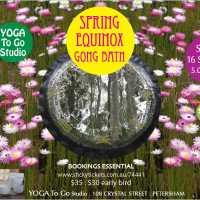 SPRING EQUINOX GONG SOUND HEALING