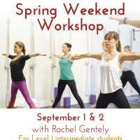 Spring Iyengar Yoga Workshop with Rachel Gentely