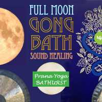 FULL MOON GONG BATH RELAXATION SOUND HEALING