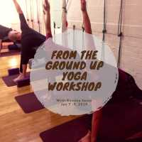 From the Ground Up - Yoga Workshop with Romina Sesto