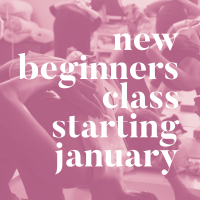 New 5 week Beginners Series starting January 5th