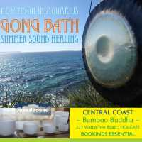 New Moon Gong Bath Sound Healing : Central Coast