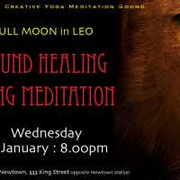 Gong Meditation Sound Healing for Leo Super Full Moon
