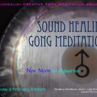 Sound Healing Gong Meditation for New Moon in Aquarius