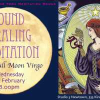 Sound Healing Gong Meditation for Full Moon in Virgo