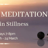 Intro to Meditation 4 week course