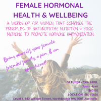 Female Hormonal Health & wellbeing
