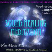 Sound Healing Gong Meditation for New Moon in Pisces