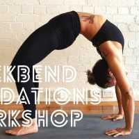 Yoga Backbend Foundations Workshop