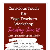 Conscious Touch for Yoga Teachers