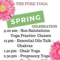 SPRING CELEBRATION CLASSES ALL DAY FREE