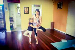 kids yoga at Yoga Grooves