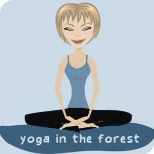 Yoga In The Forest logo