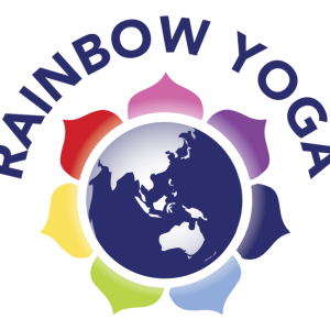 Rainbow Yoga  logo