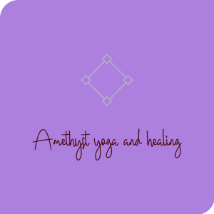 Amethyst Yoga and Healing - Kaye Oakley  logo