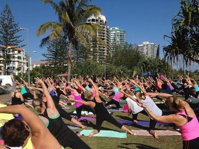 POP UP Yoga classes