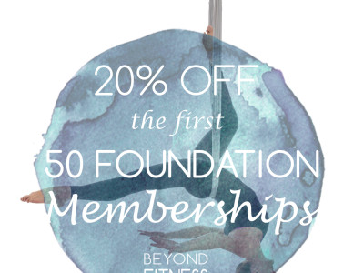 20% off First 50 Foundation Memberships